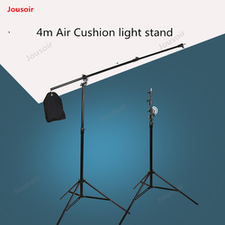 Photographic lamp Rack 4 m dual use flash bracket cantilever rack tripod Telescopic hoverboard rack CD50 T03