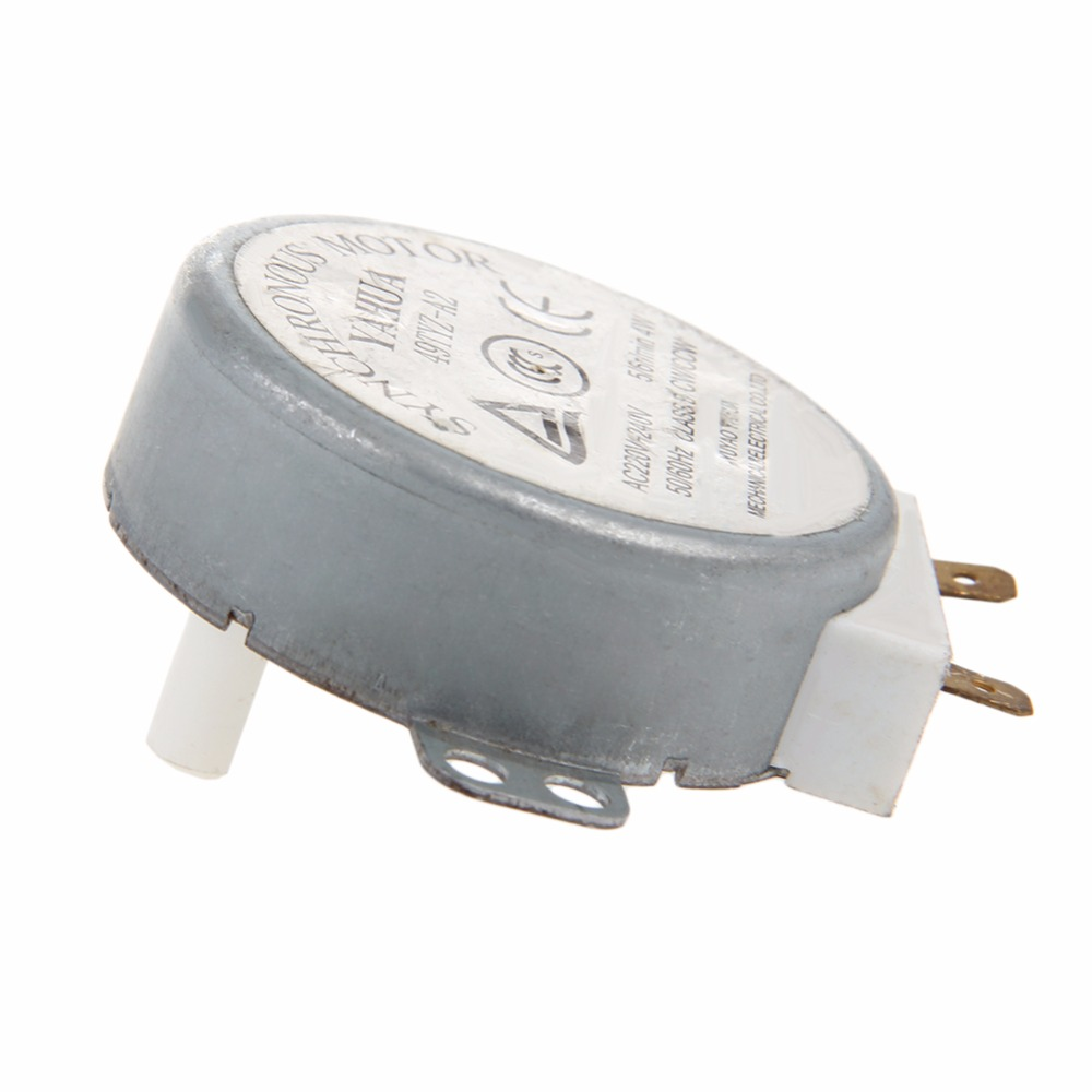 Microwave Motor 49TYZ-A2 CW//CCW 4W 5//6 RPM AC 220-240V Rotary Table Synchronous