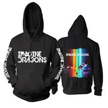 20 projetos imagine dragões 3d rock algodão hoodies marca escudo jaqueta punk metal sudadera pollover moletom velo outerwear