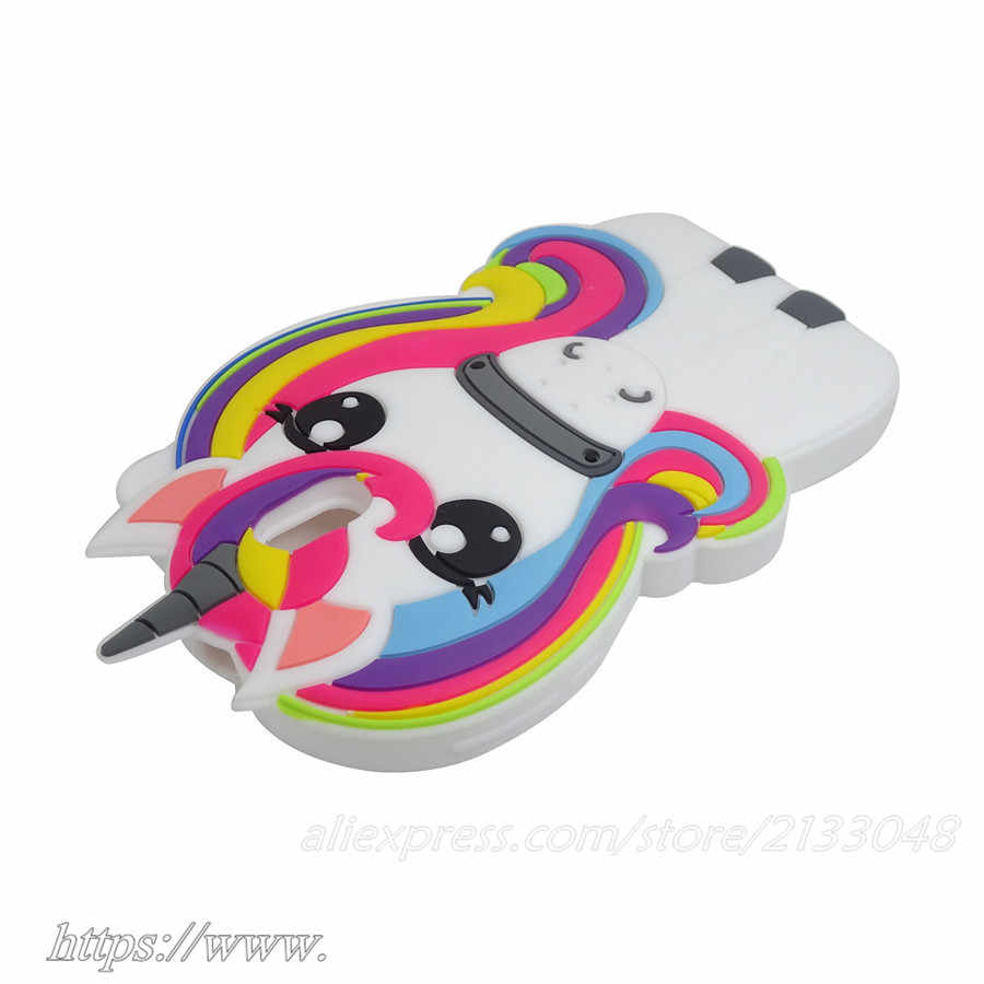 cb78832dfb0c44 ... Unicorn Silicone case For Nokia 3 Cute Horse Rubber cover For Nokia 3 5  Fashion 3D ...