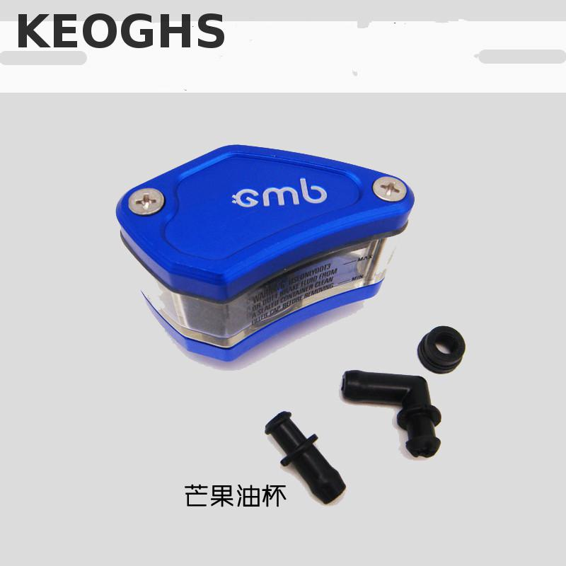 Keoghs Motorcycle Motorbike Cnc Brake Clutch Pump Oil Fluid Tank Reservoir Cup Universal For Honda Yamaha Suzuki Kawasaki Ducati motorcycle brake fluid reservoir clutch tank oil fluid cup universal for yamaha r1 r3 r6 mt 07 mt 09 mt07 mt 07 tmax 530 ktm