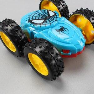 Image 5 - Jouet pour enfants, camion à benne Double face à inertie, jouet à rabat à 360 degrés, cadeau danniversaire, nouveau produit, 1 pièce