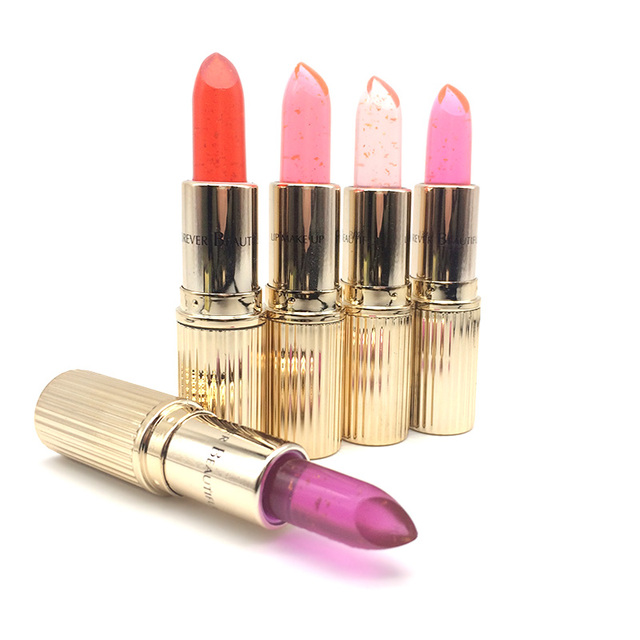 Waterproof Chrysanthemum Lipstick Jelly Fruit Lip Balm Stick Temperature Change Color Moisturizer Lips Cosmetic