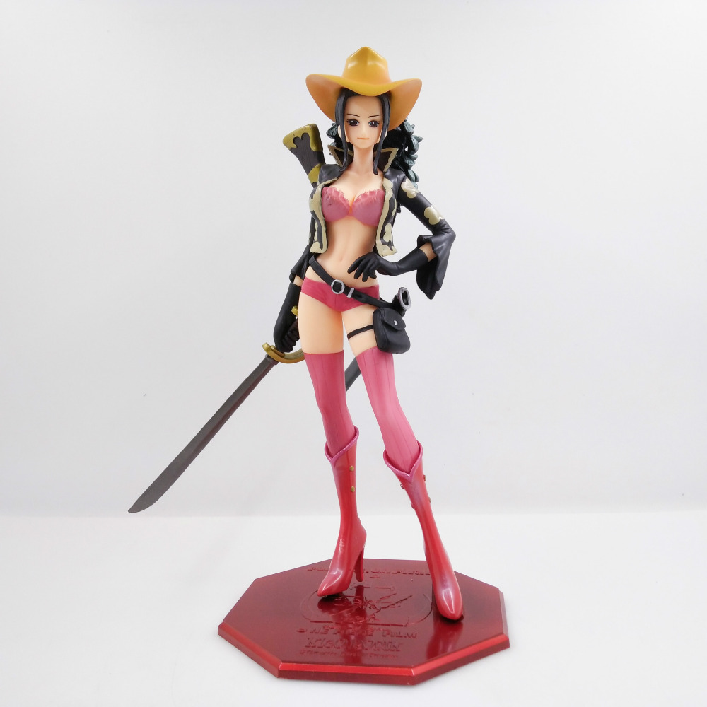 Tobyfancy One Piece Anime PVC Action Figure Nico Robin POP EDITION-Z Red Clothing Onepiece Collection Model Toy