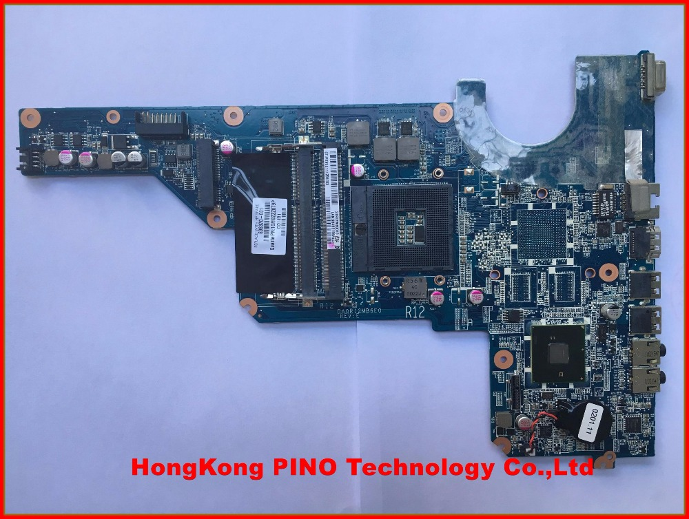 636370-001 For HP G4 G6 G7 laptop motherboard system board HM55 working Perfect DA0R12MB6E0 100% Tested wholesale 613213 001 for hp 4520s laptop motherboard 100% work perfect