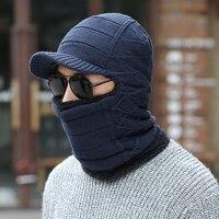 Czaszka maska kominiarka maska czapka zimowa dla kobiet mężczyźni dzianiny cap szyi cieplejsze Czapki Czapki Zimowe Dla Mężczyzn Czapka Futro Ciepłe D226
