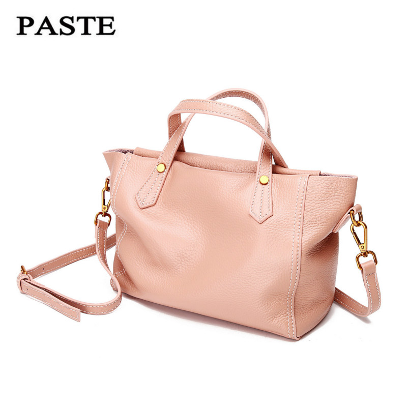 PASTE Genuine Leather Bag Women Messenger Bags Crossbody Bags for Women Leather Handbags Luxury Brand Bolso Mujer Sac A Main спонж tony moly magic air puff 1 шт