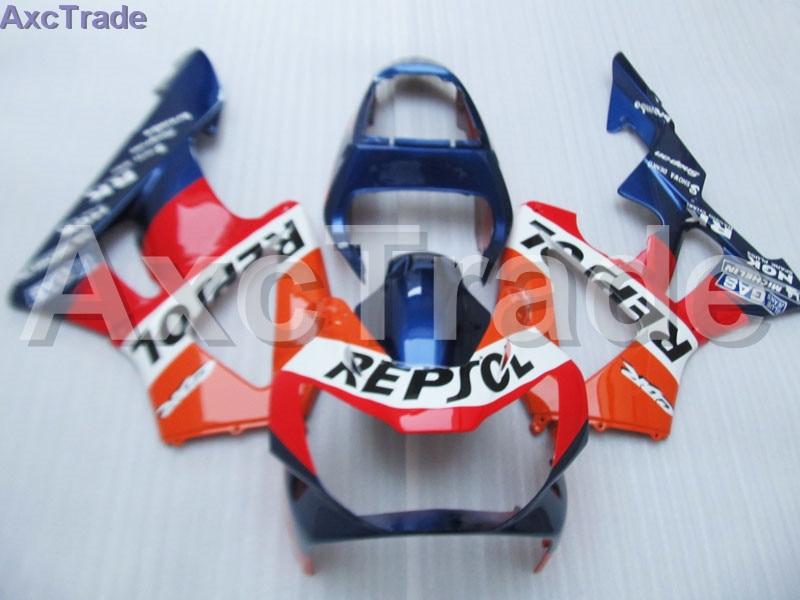 Мото обтекатель комплект для CBR 929 900 RR 929RR 00 01 900 2000 2001 CBR900RR Обтекатели индивидуальный заказ мотоцикл литья