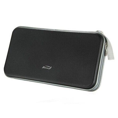 Xiongye 80 дисков CD Портативный Wallet для хранения Организатор держатель сумка Альбом Box Черный