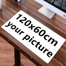 FFFAS 120×60 см 100×50 см большой игровой коврик для мыши коврик на заказ DIY большой Настольный коврик подушка клавиатура Коврик для мыши настройка скорости геймера игры