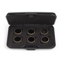 6 в 1 фильтр аксессуары UV круговой поляризатор фильтры нейтральной плотности MCUV/CPL/ND4/ND8/ND16/ND32 набор фильтров для DJI MAVIC Pro