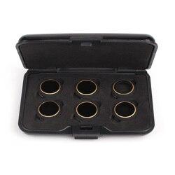 6 em 1 filtro acessórios uv polarizador circular densidade neutra filtros mcuv/cpl/nd4/nd8/nd16/nd32 filtro conjunto para dji mavic pro