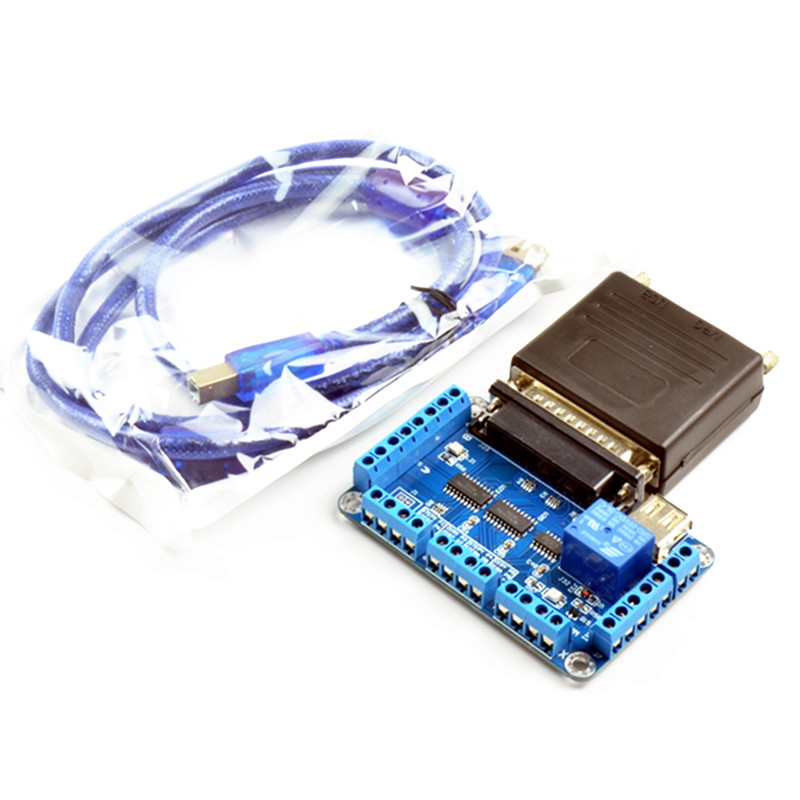 CNC machine de gravure MACH3 USB à parallèle LPT Port convertisseur adaptateur 6 axes contrôleur mach3 Parallet Port à USB outil de fraisage