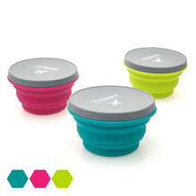 Outdoor Portable Travel Silicone Folding Bowl For Camping