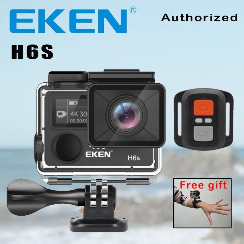 Action Kamera Deportiva EKEN H6S Ultra HD 4 Karat WiFi EIS Elektronische Bildstabilisierung Gehen Wasserdichte 1080 P Pro Sport DV Kamera
