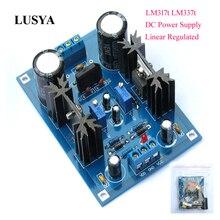 Lusya DIY Bộ Dụng Cụ LM317t LM337t Tuyến Tính Quy Định DC Điều Chỉnh Lọc Ban 5 40V DC F7 007
