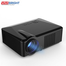 2500 Lúmenes Mini Proyector LED Portátil Proyector de Cine Proyector VGA/AV/USB/HDM/Proyector de Cine En Casa