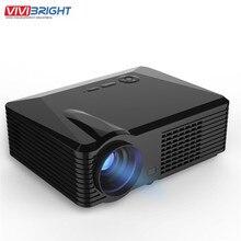 2500 Lumens Projector Mini LED Portable Beamer Cinema Proyector VGA/AV/USB/HDM/Home Theater Projector