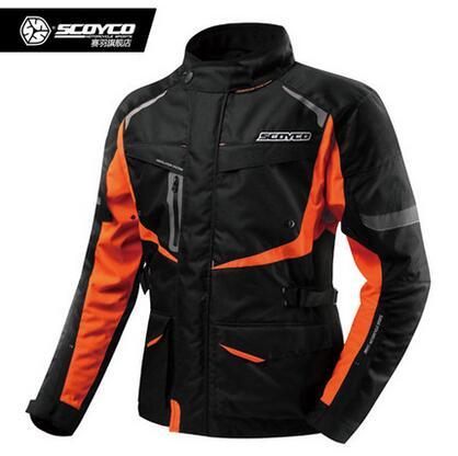 Free shipping New Scoyco JK42 motorcycle racing suits Drop resistance protective waterproof jacket men warm cold