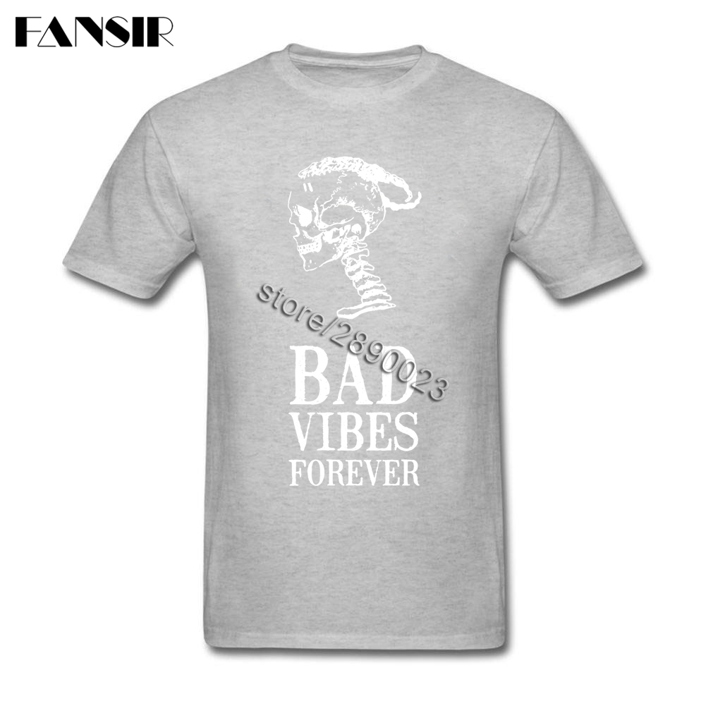 f723fe1a3 Bad Vibes Forever XXXTentacion Short Sleeved T shirt Male Creative Clothing  Cotton O neck Men T Shirt For Group-in T-Shirts from Men s Clothing on ...