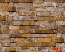 beibehang Simple Stereo Brick Stereo Pvc Wallpaper Garment Shop papel de parede Wallpaper Hotel TV Background Simple Living Room 3d stereo imitation flexpack pvc wallpaper living room bedroom aisle hotel tv background wall papel de parede r419