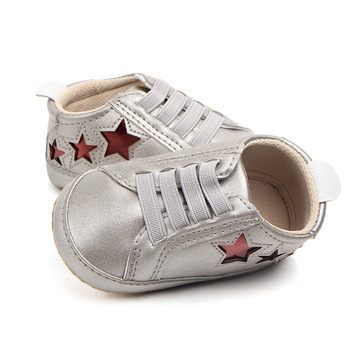 Baby Shoes Boy Girl Prewalker Soft Sole Slippers Trainers Shallow Canvas Anti-slip Sneaker