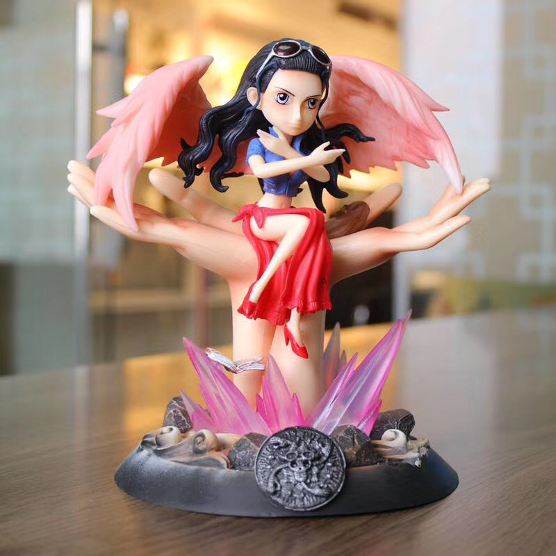 Anime 1/8 Scale Painted Figure One Piece Wings Of Dream Sitting Ver. Nico Robin Statue Action PVC Figure Toy BrinquedosAnime 1/8 Scale Painted Figure One Piece Wings Of Dream Sitting Ver. Nico Robin Statue Action PVC Figure Toy Brinquedos
