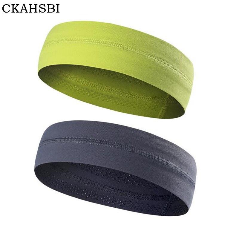 CKAHSBI 2019 Cycling Headwear Bike Gym Sweat hoop Bandana Bicycle Headwear Bezel Sport Protect head Silicone Non-Slip Headbands