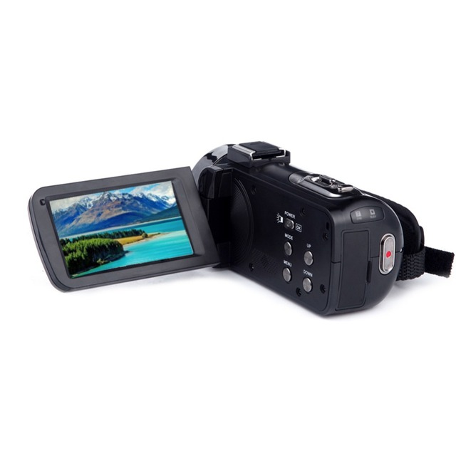 4K Camera WIFI Camcorder Kimire Ultra HD Digital Video Camera 30.0MP Recorder 3.0 Inch 270 Degree Rotation Touch Screen 16X Zoom