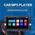 NOVO 2 DIN Jogador Rádio Do Carro autoradio 6.6 'HD tela Sensível Ao Toque Câmera de Visão Traseira do Bluetooth Estéreo FM/MP3/MP5/Audio/USB Auto Eletrônica