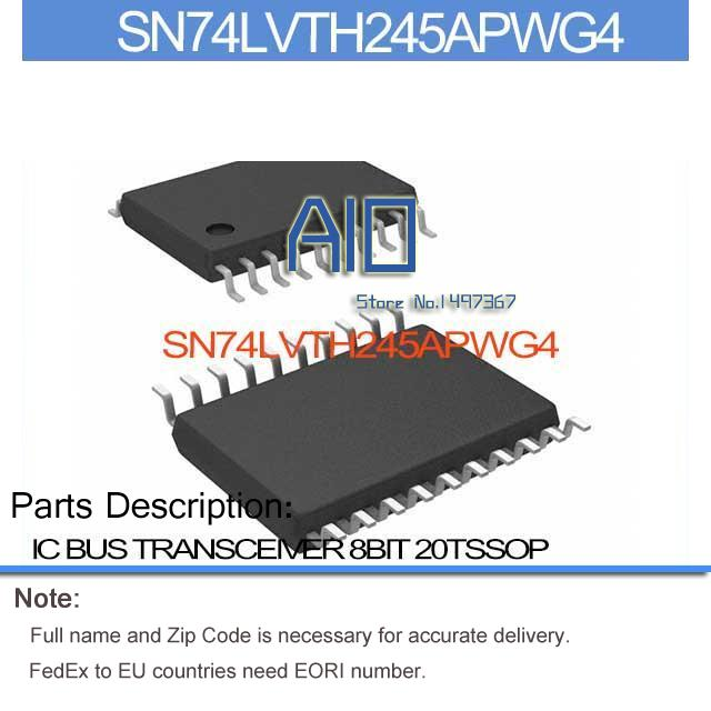 US $66 42 |SN74LVTH245APWG4 IC BUS TRANSCEIVER 8BIT 20TSSOP SN74LVTH245AP  74LVTH SN74LVTH24 74LVTH2 SN74LVTH 74LVTH24-in Integrated Circuits from