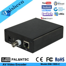 Video-Encoder IPTV Live-Streaming HDMI Youtube Analog H.264 BNC RCA Rtmp CVBS