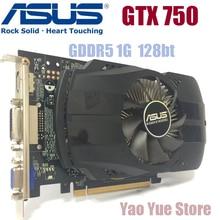 ASUS GTX-750-FML-1GB GTX750 GTX 750 1 г D5 DDR5 128 бит настольных ПК Графика карты PCI Express 3.0 компьютеров Графика карты