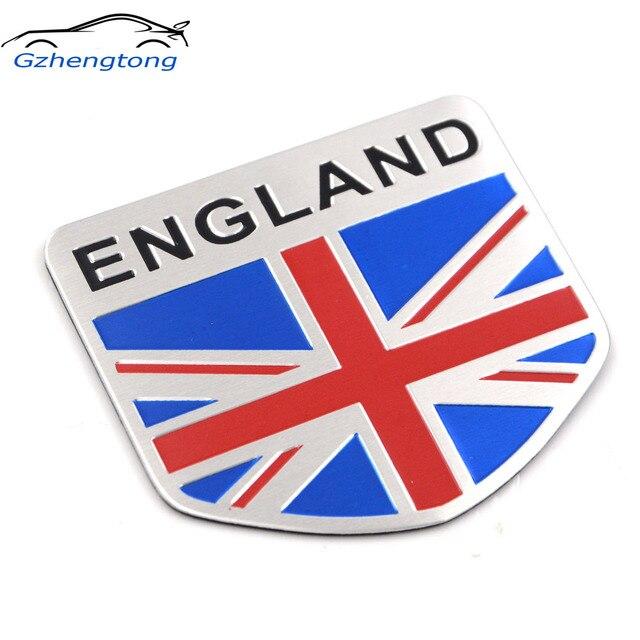 Gzhengtong Car Styling Metal Uk England Flag Sticker Logo Car Auto