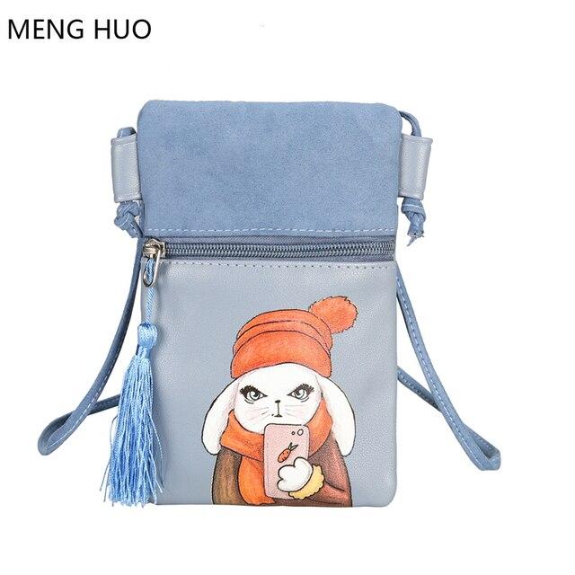 bc65a3b32cc fashion summer shoulder bags character handbag woman travel money pouch  designer crossbody handbags pu leather tassel phone bags