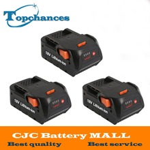 3X High Quality Newest 4000mAh 18V Li-ion Power Tool battery for AEG-RIDGID BFL18 L1815R CS0921 R84008 R840083 AC840084