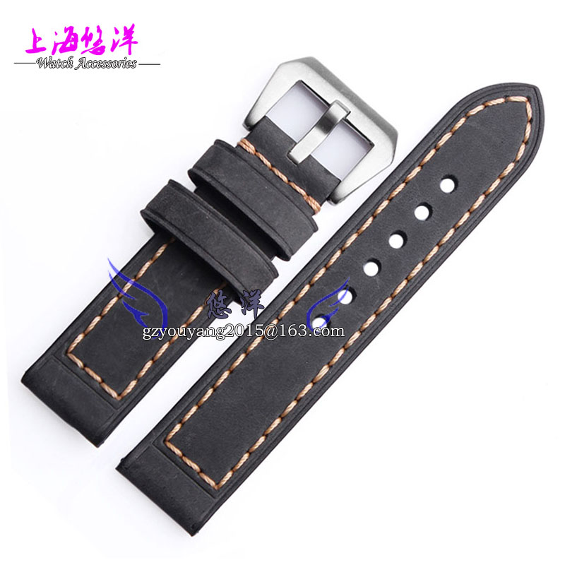 Leather strap leather bracelet Can be used repeatedly sea PAM111 00112 20 22 and 24 26