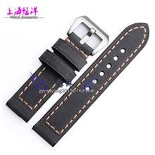 Кожаный ремешок кожаный браслет можно использовать повторно, Море PAM111 00112 20 22 и 24 26 мм