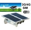 8mm Onvif Star Night Vision 80 M Energia Solar IP Suporte para Câmera 3G/4G Rede SIM Wanscam Sem Fio Da Câmera de Segurança do cartão HW0029-4