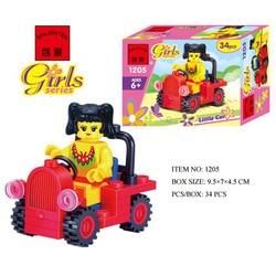 Enlighten модели Здание игрушка Совместимость с LEGO Лего Legos Конструктор E1205 34 блок Блоки игрушки Хобби Для мальчик девушка Наборы моделей