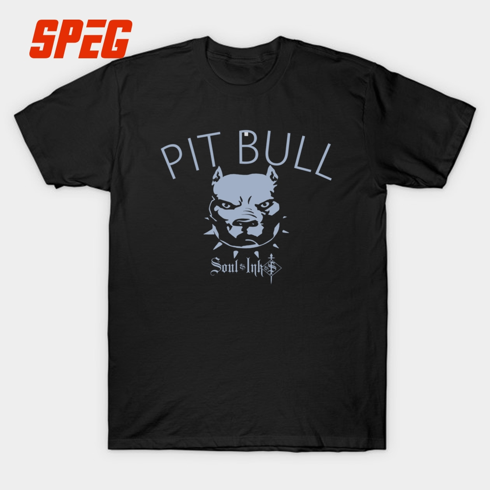 Design t shirt europe - Design T Shirt Pit Bull American Bully Dogs Men Crewneck Short Sleeve T Shirts New Europe