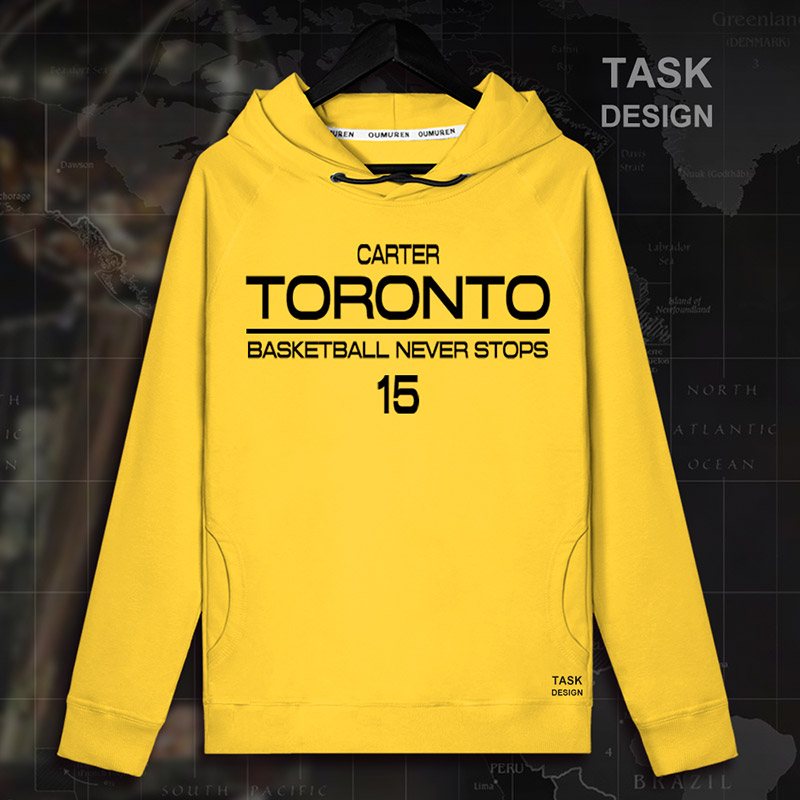 sale retailer ca488 4bc22 Vince Carter Men pullovers hoodies sweatshirt VC Clothing streetwear casual  tracksuit Toronto USA basketballer star Raptors 01