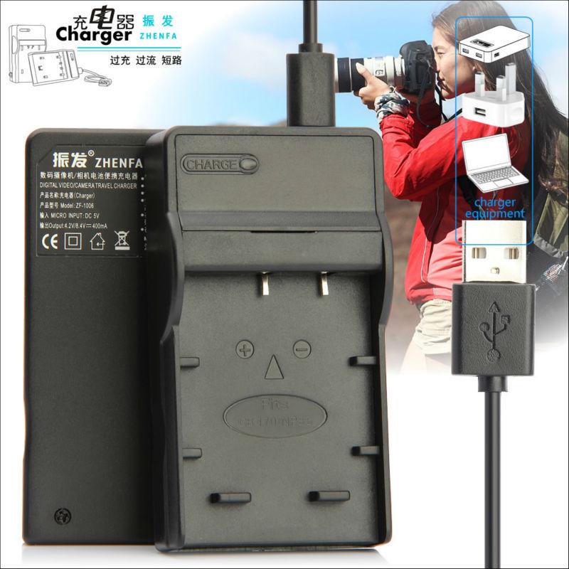 finepix sl305 finepix sl1000 Cargador de batería Micro USB para Fujifilm
