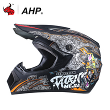 AHP Motocross Casco Da Corsa Off Road ATV Dirt Bike Downhill Caschi Moto Viso Viso Del Casco Del Motociclo del Casco Moto Casco