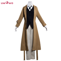 Osamu Dazai Cosplay Bungo Stray Dogs Anime Polyester Costume