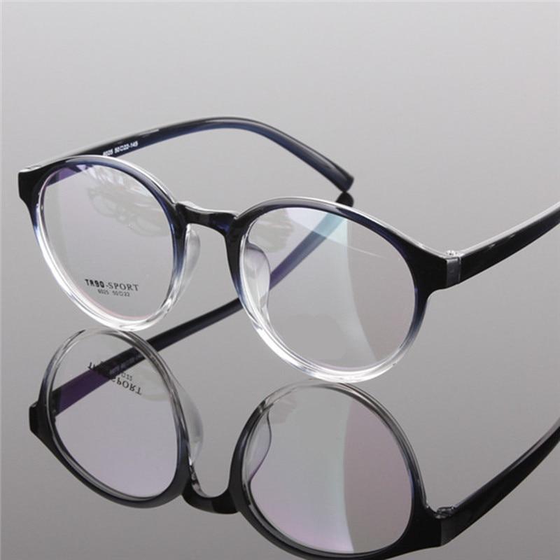 a7bac9c209d7b خمر النظارات المستديرة التدرج عدسة النظارات الإطار الرجال النساء نظارات  الحريه موضة 2015 جديد أسود