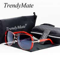 Hot 2019 Oculos haute qualité lunettes de soleil femmes lunettes Vintage avec boîte lunettes de soleil femmes marque Designer dames lunettes de soleil M071