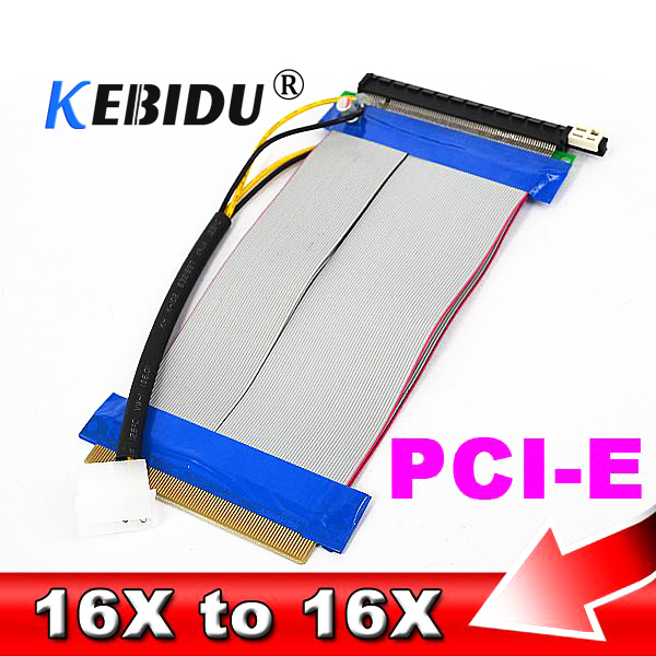 TL-ANALOG New 008S PCI Express 1X to 16X Adapter Riser Card USB 3.0 Cable SATA to 6Pin Power Cable for Bitcoin Miner Antminer Mining