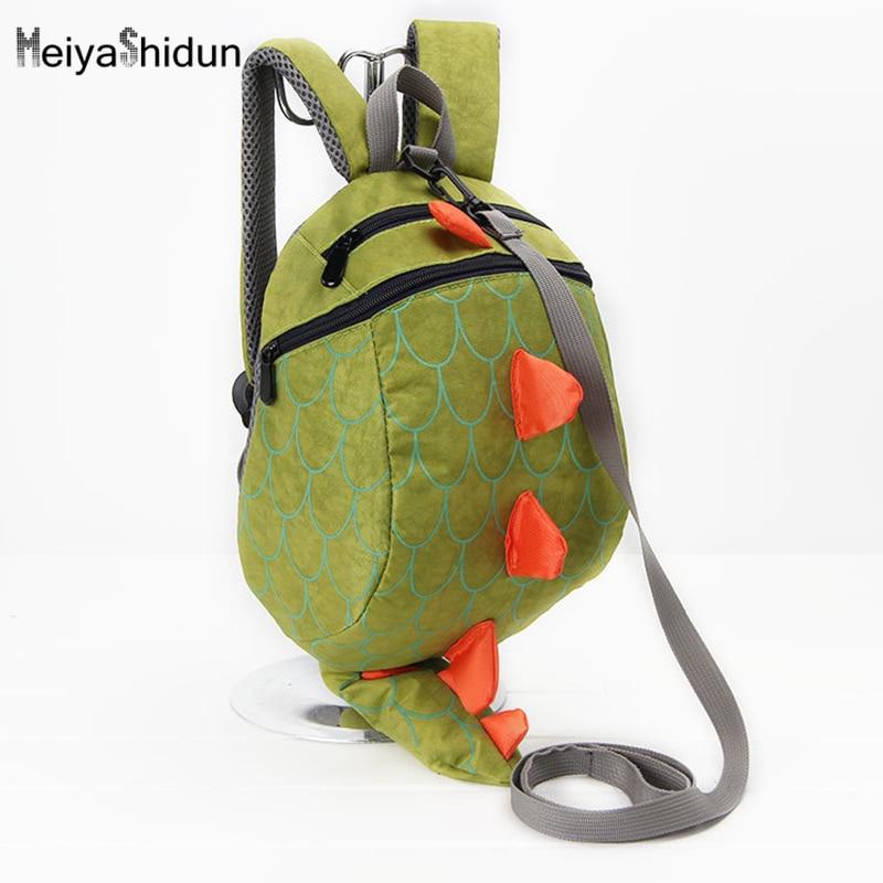Meiyashidun Cute kids backpack kindergarten girls boys children backpacks  school bag cartoon animals dinosaurs Mochila Infantil b9d9aa726b