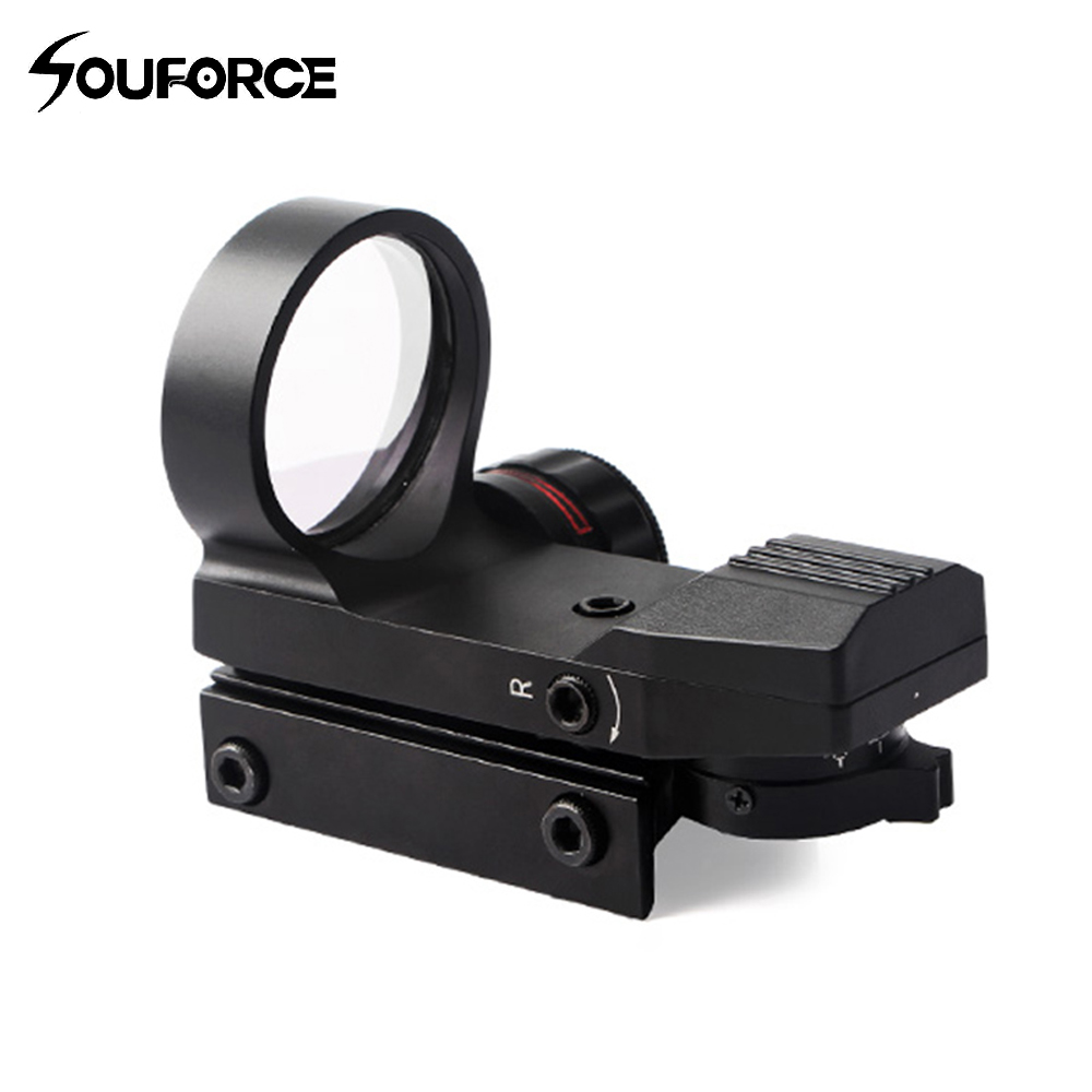 High Quality Tactical Red Dot Sight Four Quasi-heart Settings Models Sight Adjustable Fit 20mm Rail Mount for HuntingHigh Quality Tactical Red Dot Sight Four Quasi-heart Settings Models Sight Adjustable Fit 20mm Rail Mount for Hunting